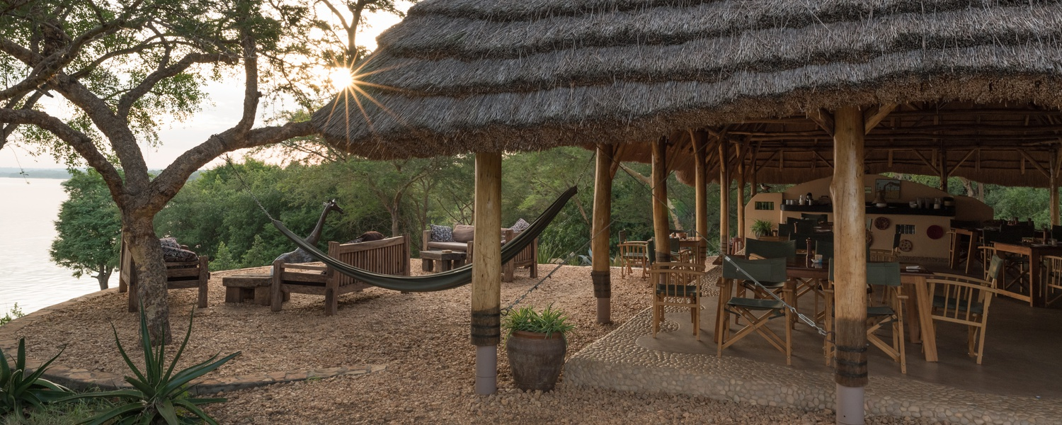 Murchison River Lodge restaurant, Murchison Falls National Park