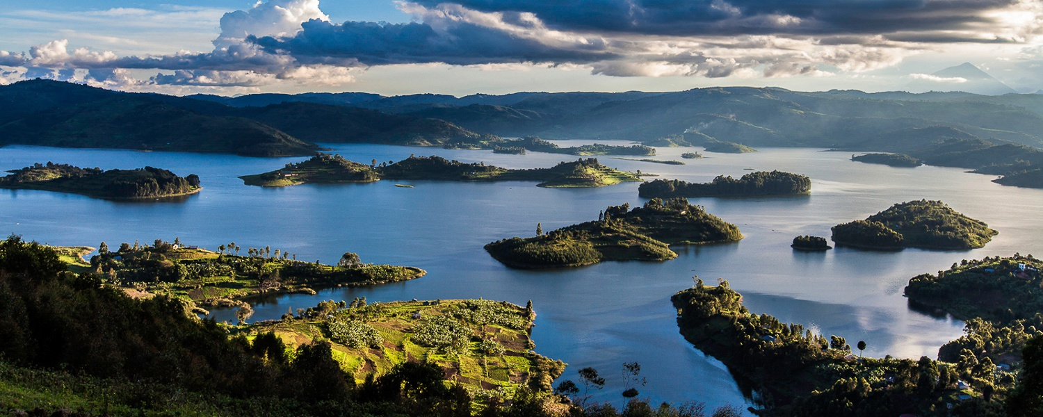 Islands of Lake Bunyonyi Uganda