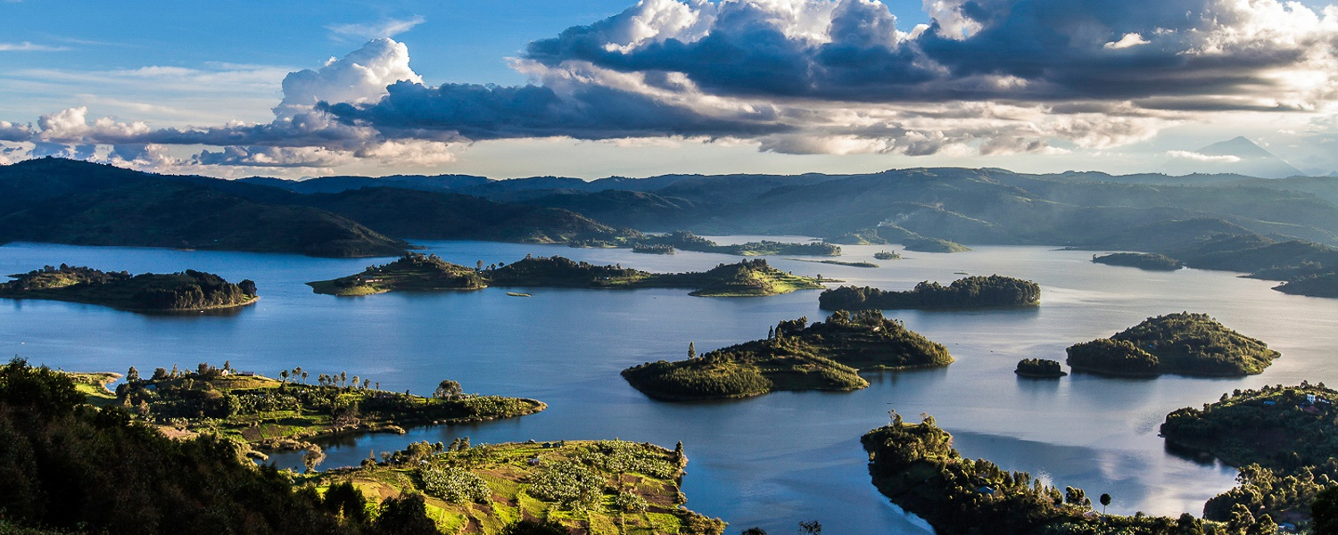 Islands of Lake Bunyonyi, Uganda