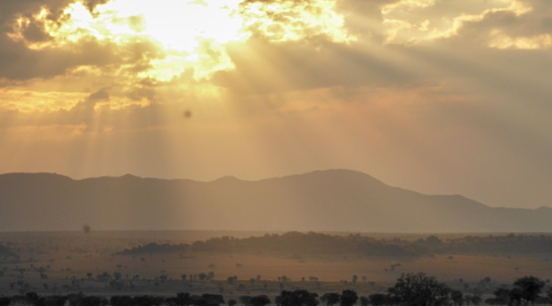 Kidepo Valley National Park at Sunset Uganda